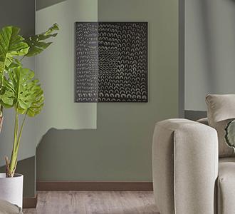 Metalen schilderij Cyna 64 x 70 cm