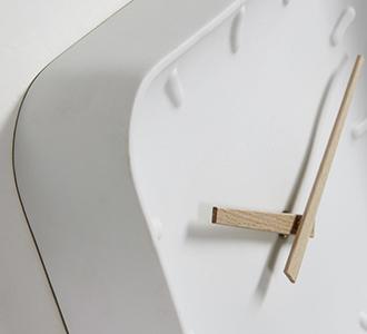 Wandklok vierkant Wana 26 x 26 cm