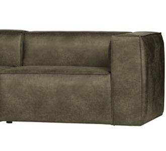 Bean 3,5-seater sofa army