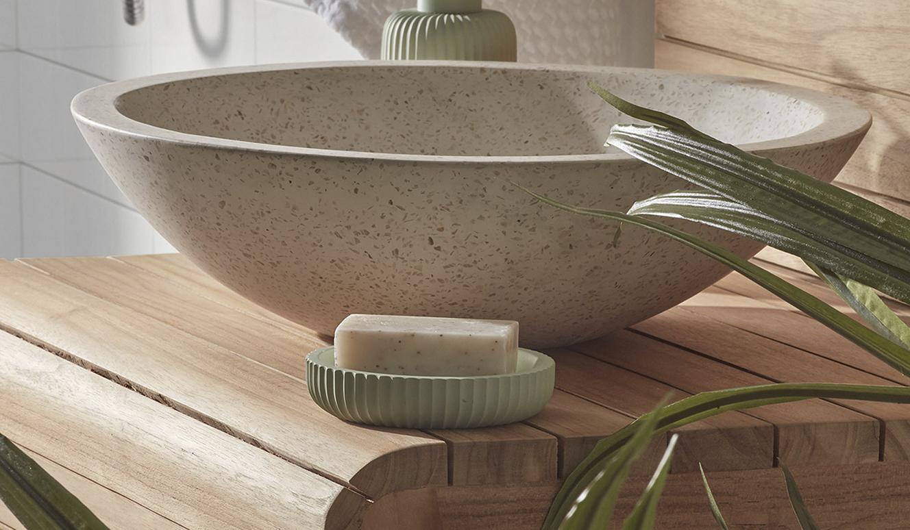Wasbak handdoekrek Kuveni 60 x 92 cm