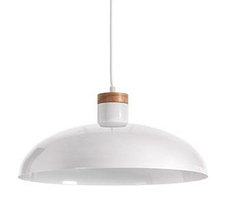 Gotram plafondlamp wit