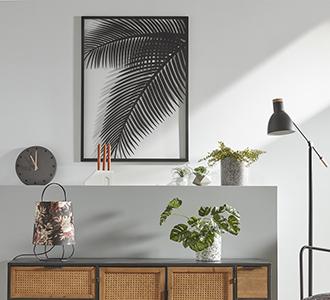 Metalen schilderij Dimpa 74 x 100 cm