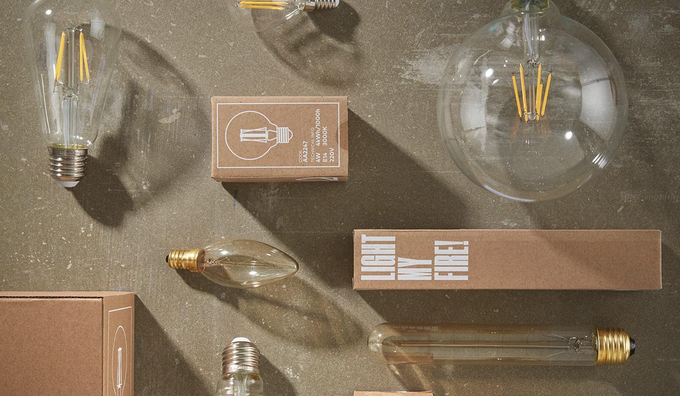 Bulb langwerpige buislamp E27 40W