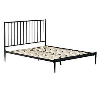 Bed Natacha 150 x 190 cm grafiet