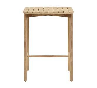 Hoge tafel Sheryl 75 x 75 cm