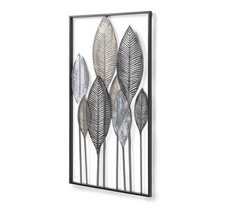 Leaves wandpaneel 52,5 x 95 cm