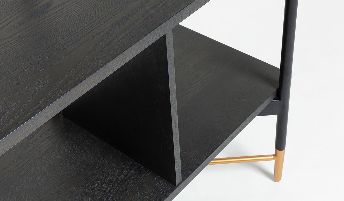 Boekenkast Milian 120 x 177 cm