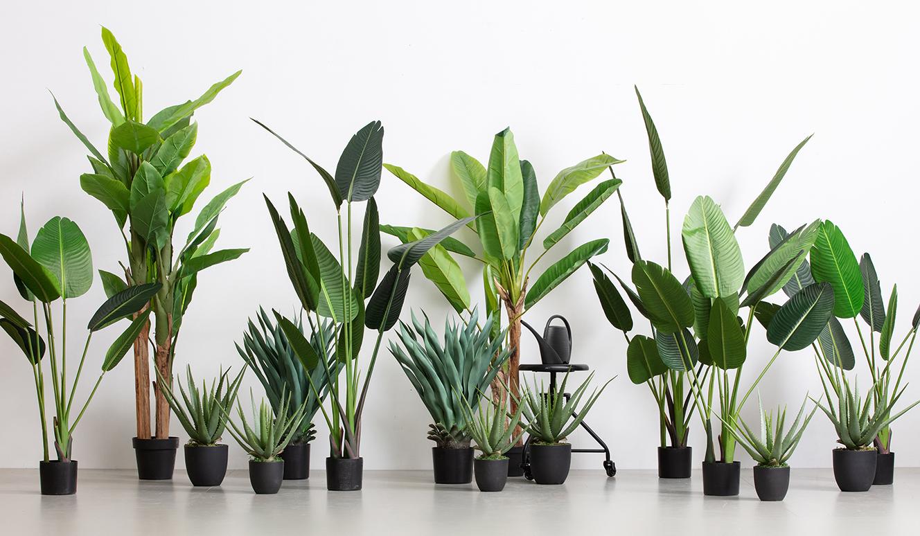 Aloe vera artificial plant green 46cm