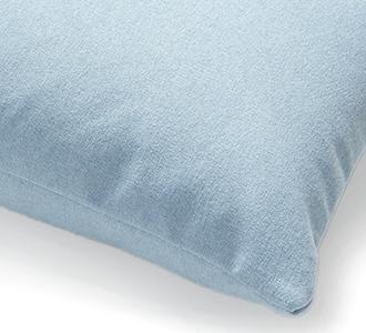 Kam kussensloop 30 x 50 cm lichtblauw