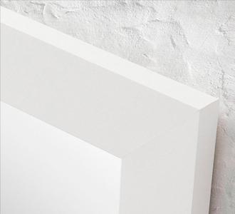 Junko spiegel 47 x 57 cm wit