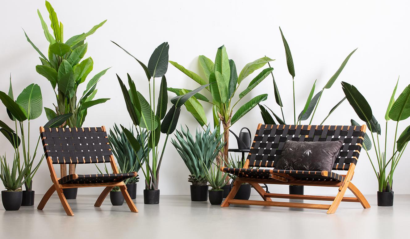 Aloe vera artificial plant green 55cm