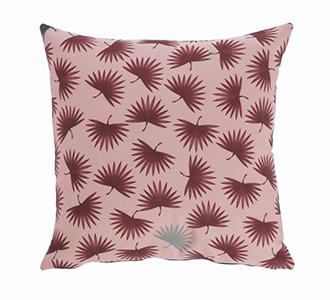 Kussensloop Berharnu 45 x 45 cm roze