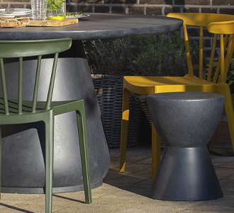 Dover stool anthracite 45xØ35