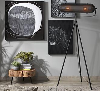 Arete staande lampen