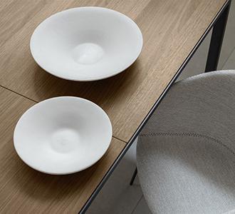 Set Naimi van 2 borden voor bloempotten