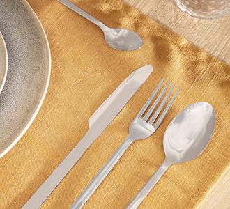 Bestek Crisps van 16 stuk zilver