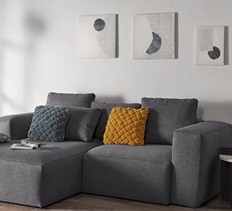 Grood schilderij Prism 50 x 50 cm met witte achtergrond