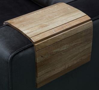 Armrest flexible oak antique finish - m