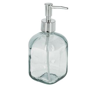 Trella glazen zeeppomp transparant 100% gerecycled