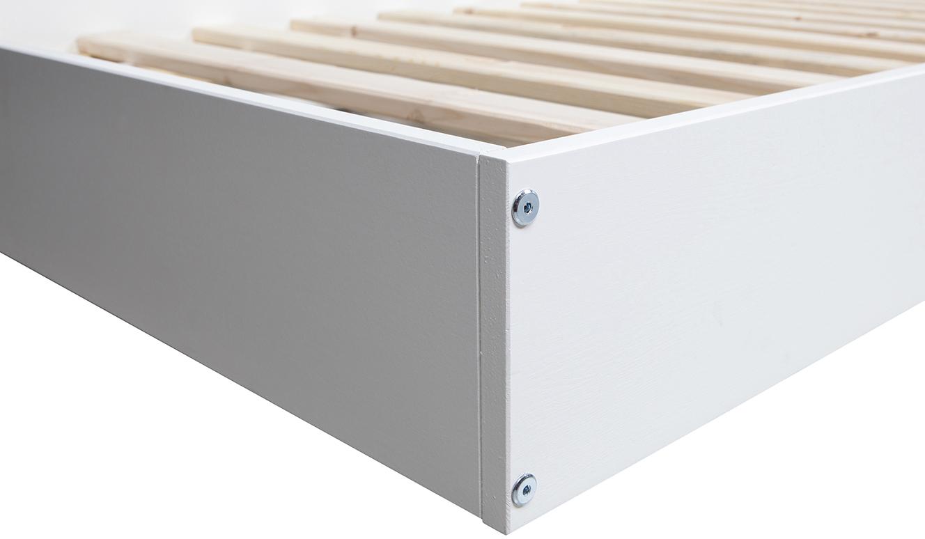Connect corner bed white [fsc]