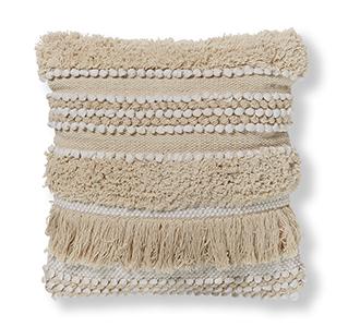 Frinn kussenhoes 45 x 45 cm wit