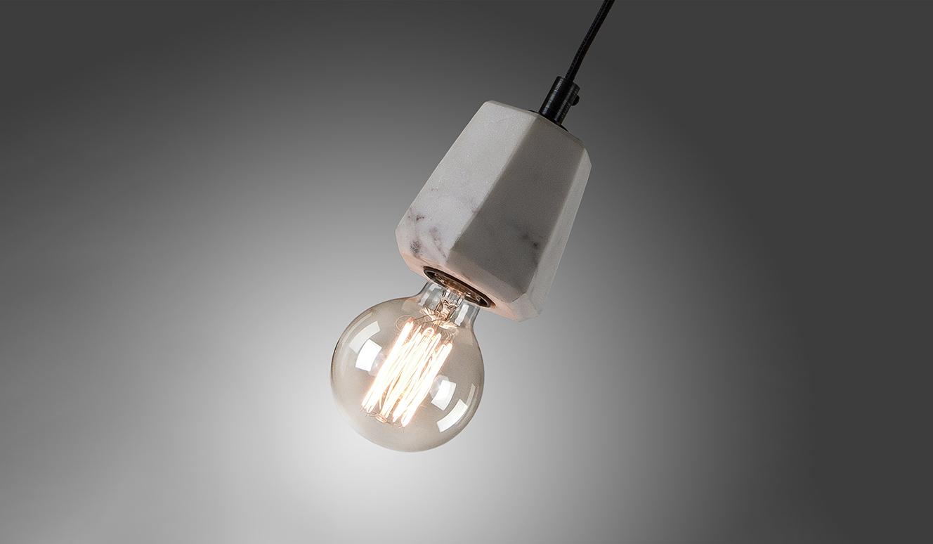 Bray plafondlamp wit