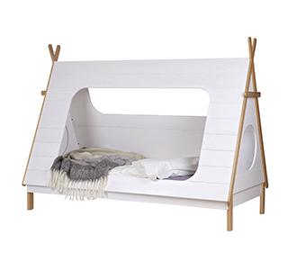 Tipi bed 90x200 incl slats