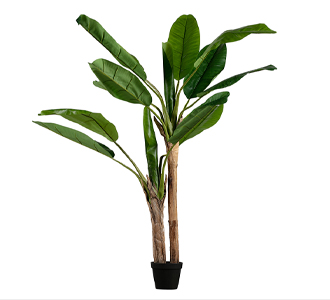 Banana plant artificial plant green 138cm