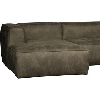 Bean corner sofa left army