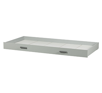 Tipi bed drawer concrete grey
