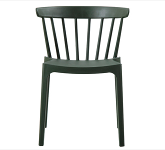 Bliss chair plastic army green