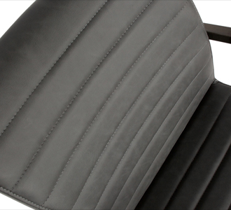 Bas dining chair pu anthracite