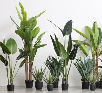 Banana plant artificial plant green 195cm