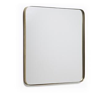 Marco spiegel 60 x 60 cm goud