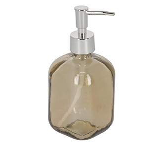 Trella glazen zeeppomp bruin 100% gerecycled