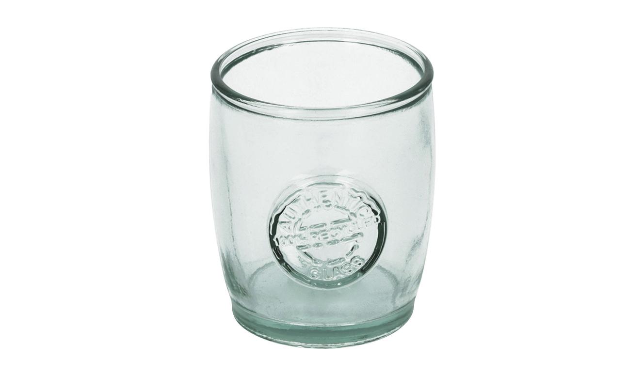 Tsiande glazen pot transparant 100% gerecycled