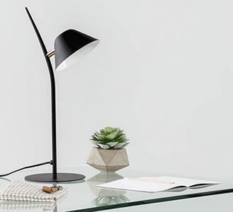 Aurelia tafellamp zwart