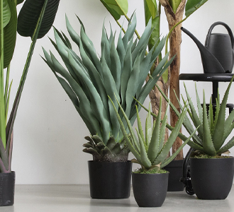 Agave artificial plant green 68cm